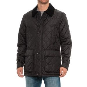 Cole Haan Men's Quilted Barn Jacket Size M NWT